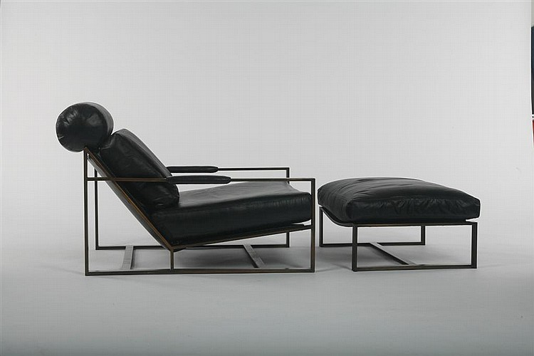 Milo Baughman Lounge chair and ottoman