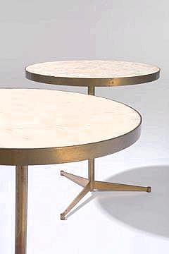 Paul McCobb Directional Pair of Cigarette tables
