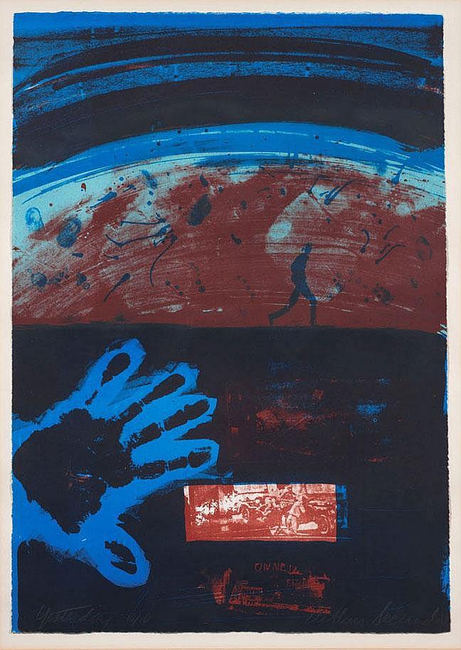 Arthur Secunda group of three works