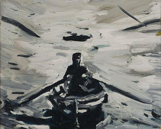 Roger Herman Untitled (Row boat)