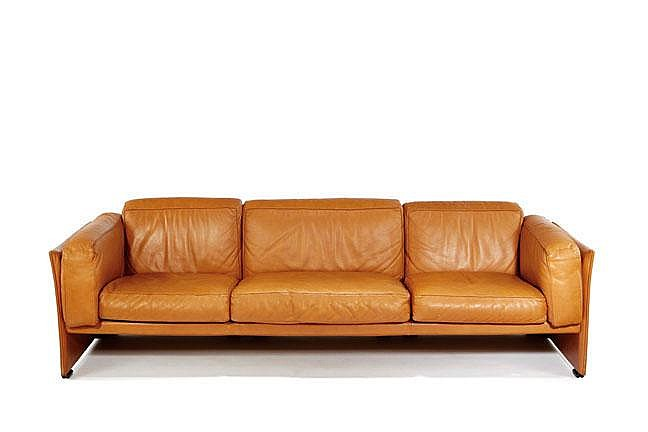 Mario Bellini couch and club chair