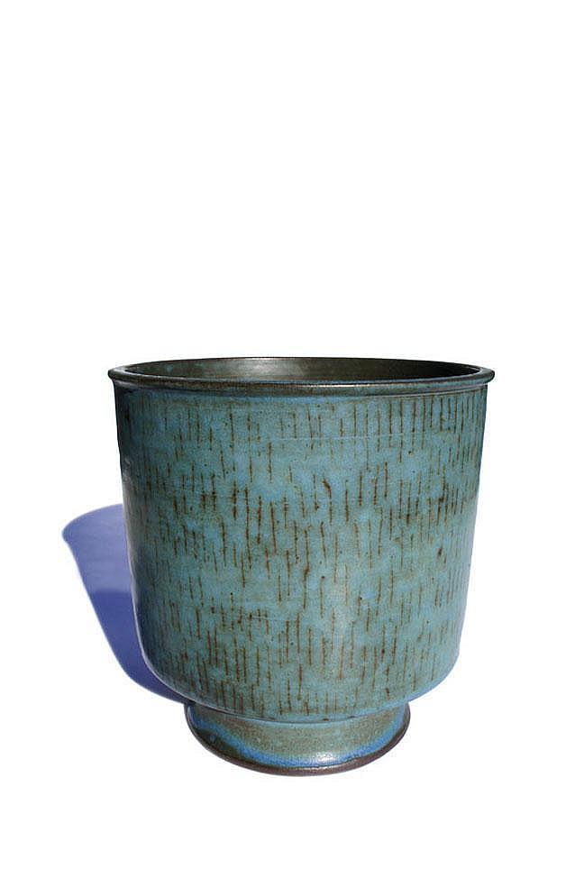 Laura Andreson tall glazed bowl