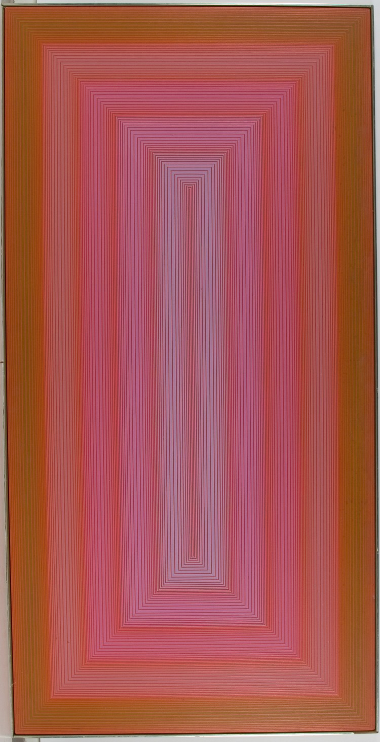 Richard Anuskiewicz Untitled (Gateway to Red), 1970