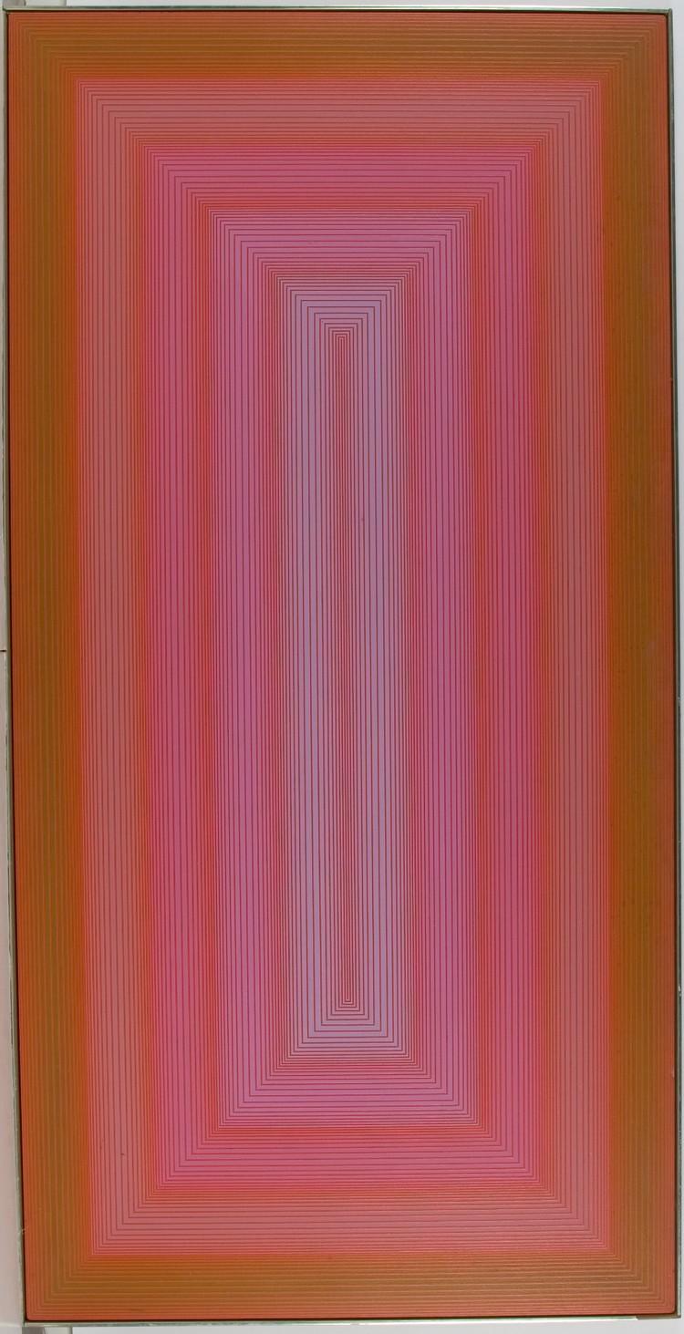 Richard Anuskiewicz Untitled (Gateway to Red), 1970