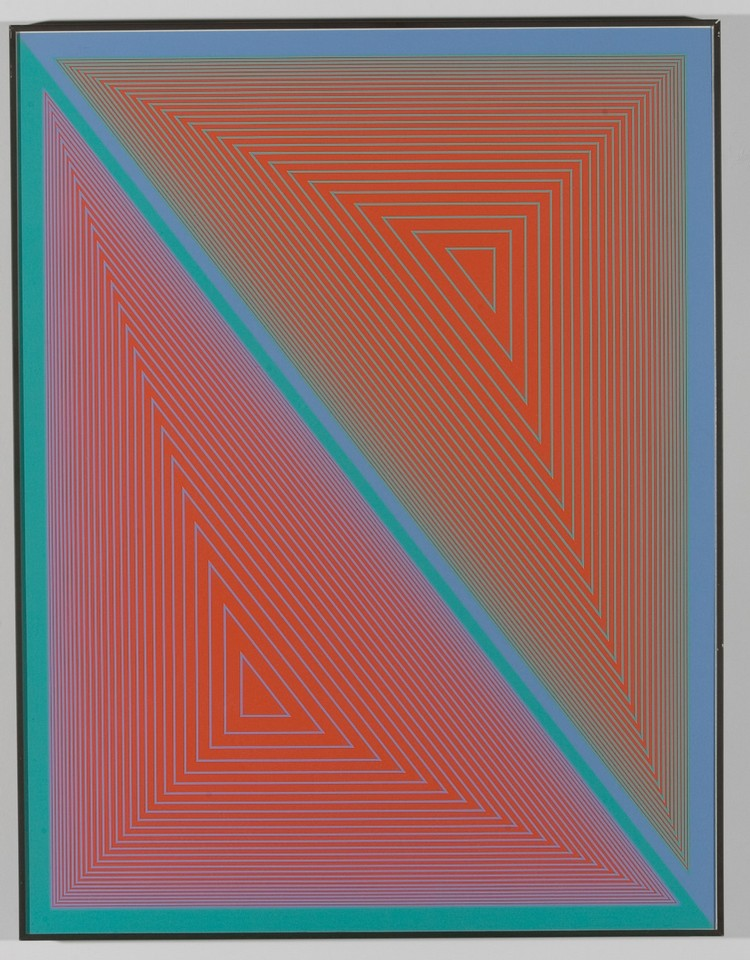 Richard Anuskiewicz Suite of prints
