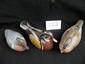 Lot Of 3 Handpainted Wooden Duck Decoys
