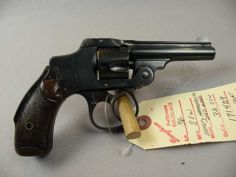 Smith & Wesson Safety Hammerless 2nd Model 32 S&W
