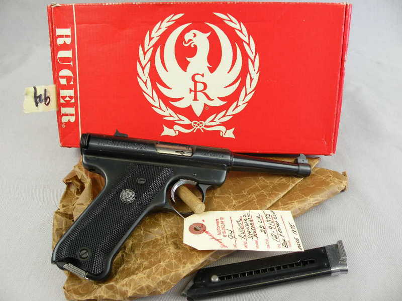 Ruger Standard Automatic 22LR
