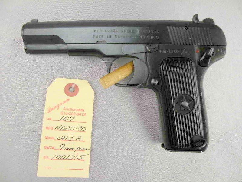 Norinco 213A 9MM Luger