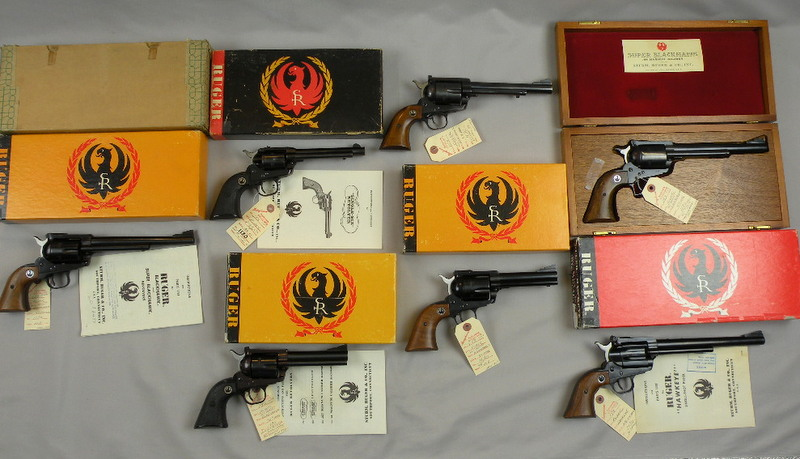 Ruger Collection Of 7 Guns From Low Serial Number Program (All With Serial Number 1130)