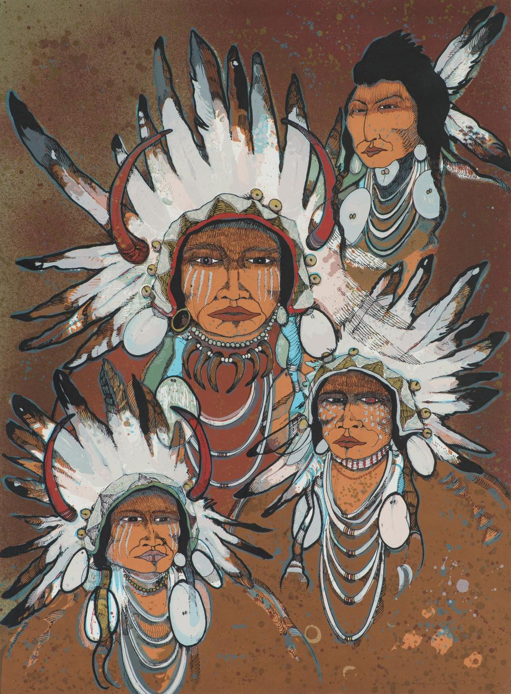 Kevin Red Star Four Sioux War Chiefs