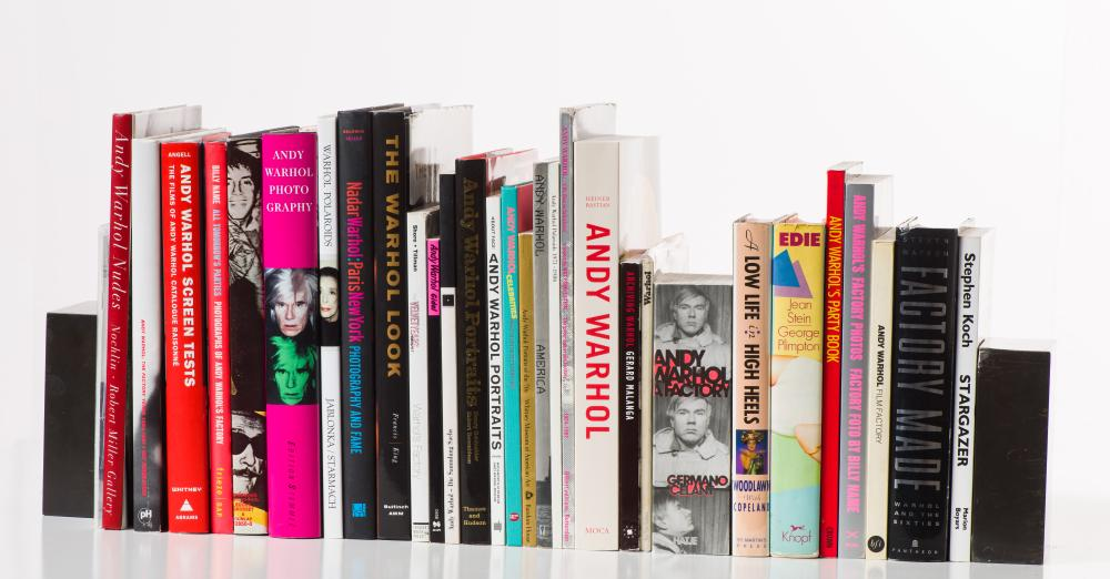 Various Authors Andy Warhol Book Collection: (32) Books