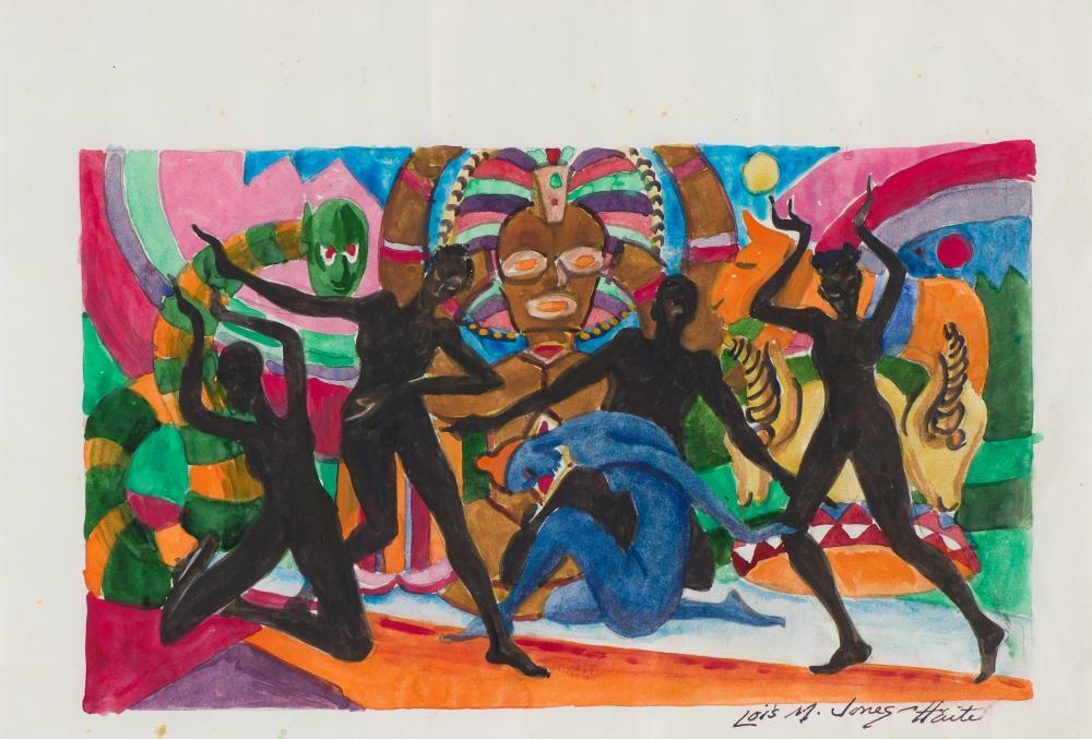 Lois Mailou Jones Figures Dancing