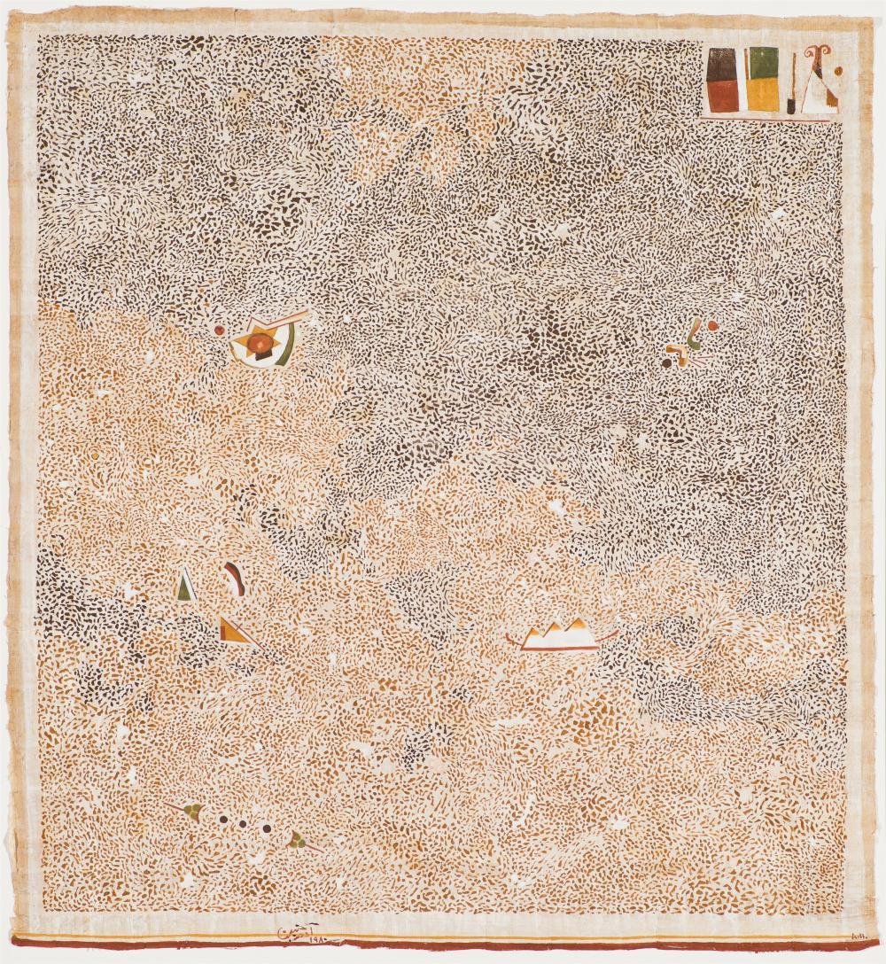 Adam Henein Untitled (element in upper right)