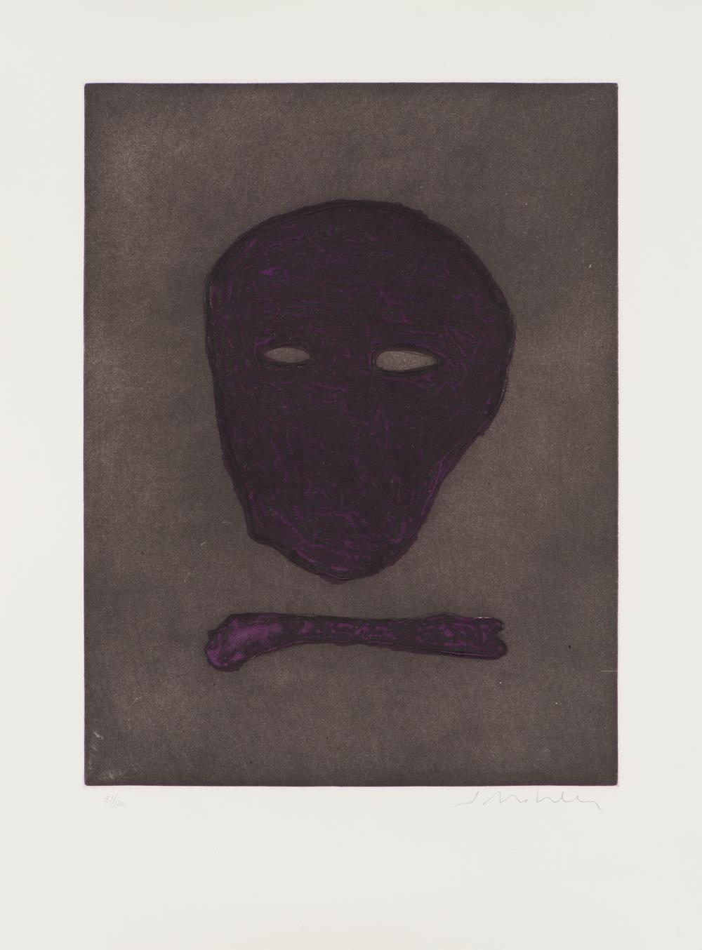 Fritz Scholder Mask of the Artist