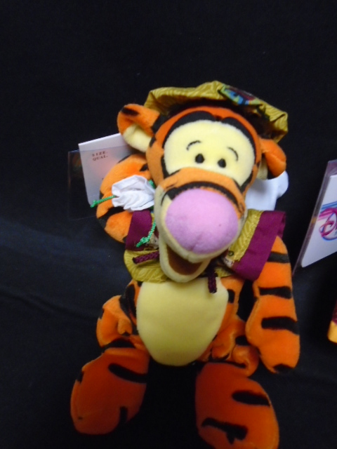 Lot Of 3 Collector Disney Store Winnie The Pooh Tigger Piglet