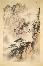 CHINESE PAINTING SCROLL OF LANDSCAPE