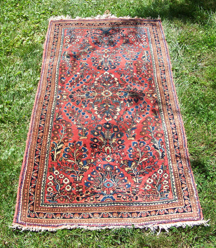 Persian Rugs Wellington: Antique Persian Sarouk Rug