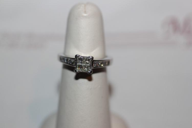 14K Diamond Fashion Ring w/Appraisal of $2070.00
