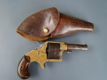 3016P Colt House Model, 2 5/8 barrel, 41 cal., 5 shot, wood, holster, 1876