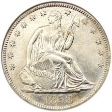 1858 0 SS Republic Shipwreck Coin NGC COA