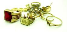 20.94 grams of 10k Gold Jewelry Scrap