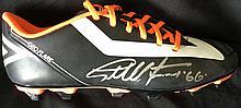 Geoff Hurst signed football boot