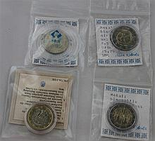 small lot of coins