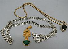 Convolute 925 silver jewelry