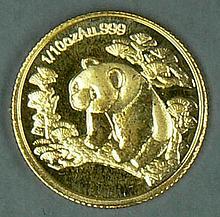 China 1997, 1/10 oz gold coin