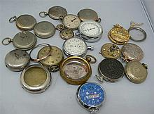 Big Lot pocket watches and accessories