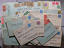 German Reach Weimar, 1927/29, approximately 40 letters