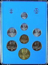 Slovakia 1994 coin set, in box.