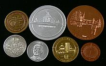 7 Medals Berlin, on various occasions