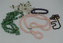 Lot semiprecious stone - jewelery