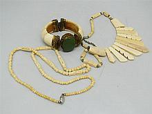 unusual Lot Leg jewelery