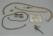 Lot silver jewelry, besides