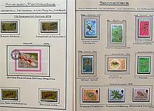 Worldwide 1961/87, small collection ants, scorpions
