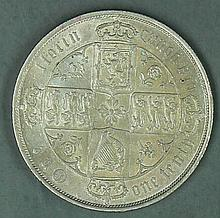 Great Britain in 1873, one Florin - 1/10 pound