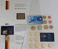 Small Lot - 2 Coin Sets Europe