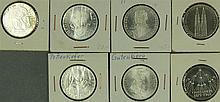 BRD 1968-1980, convolute 5.- DM - silver coins