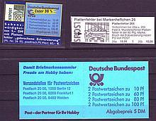 BRD 1989-91, Minr. MH 26 II. Plate error field 3