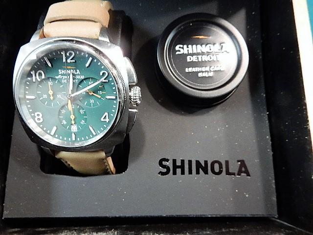 Shinola argonite wrist watch for Argonite watches