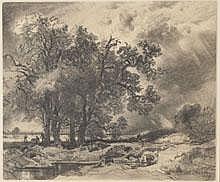 Koch, Heinrich (Krefeld 1806 - 1893) Blei/Karton,