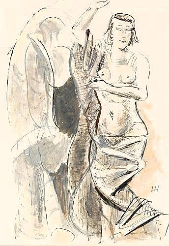 Homeyer, Lothar (Berlin 1883 - 1969) Pinsel u.