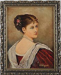 Wagner, Albert (Stuttgart 1816 - 1867) Öl/Lwd.