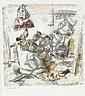 Händler, Rolf Farblithographie. Komposition mit, Rolf Handler, Click for value
