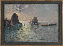 Balsamo, Salvatore (Neapel 1894 - 1922) Öl/Pappe.
