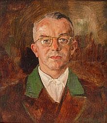 Hirsch, Peter (München 1889 - 1978) Öl/Hartfaser.