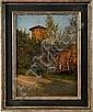 Amberg, Wilhelm (Berlin 1822 - 1899) Öl/Pappe., Wilhelm Amberg, Click for value